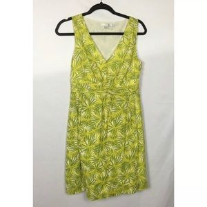Boden Fit and Flair Floral Print Dress Size 4P